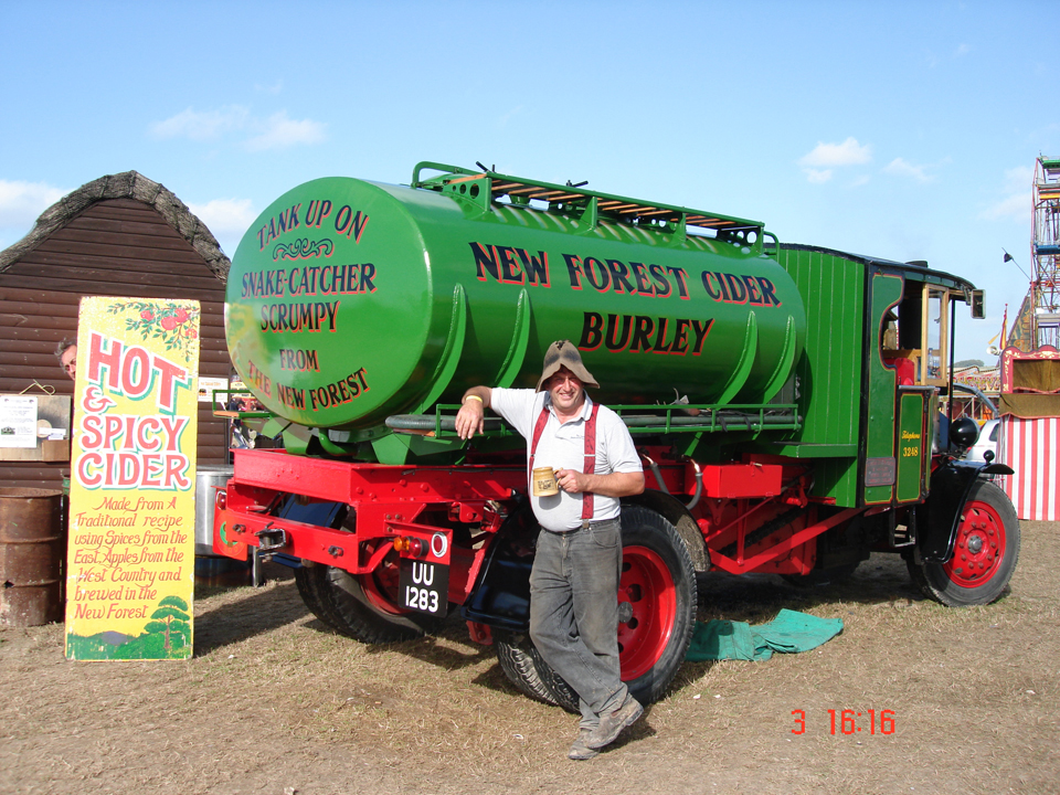 New Forest Cider - Lorry