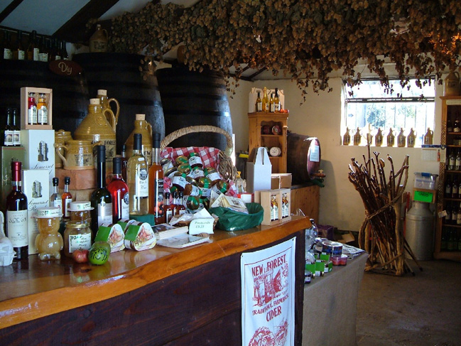 New Forest Cider Shop, Burley
